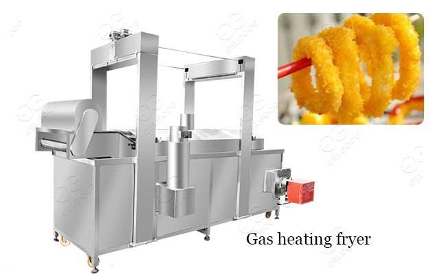 fried calamari processing machine