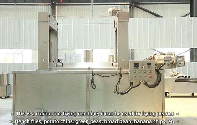 commercial mushroom frying machine