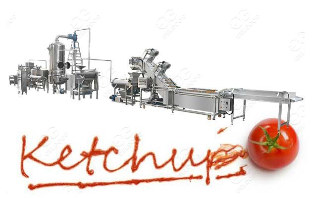 industrial tomato paste production line
