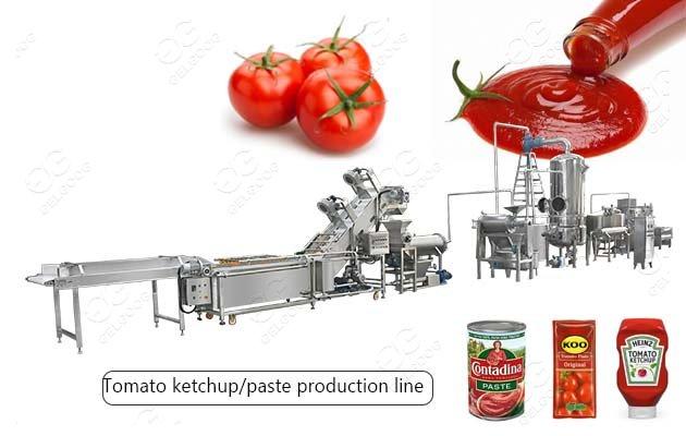 automatic tomato paste making machine
