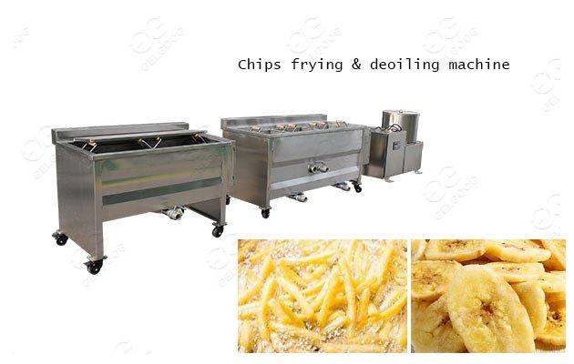 banana plantain fries making machine