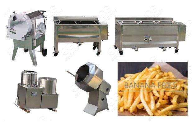 plantain fries production line
