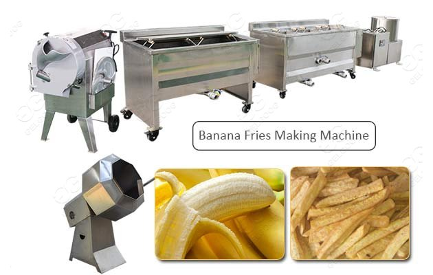 banana french fries production line