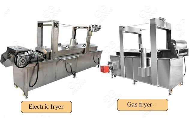 industrial pork skin fryer