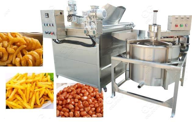 garlic frying machine for sale