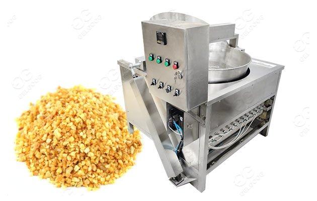 fried garlic making machine