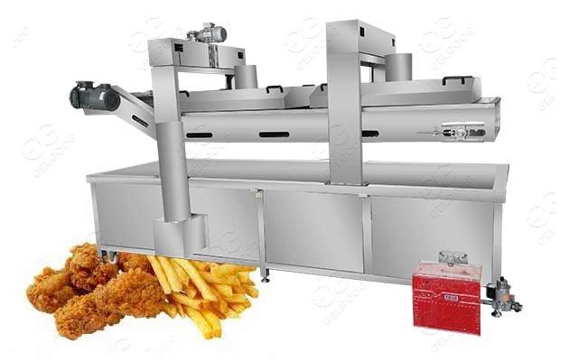 chicken frying machine manufacturer