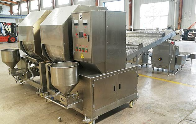 egg roll wrapper production line