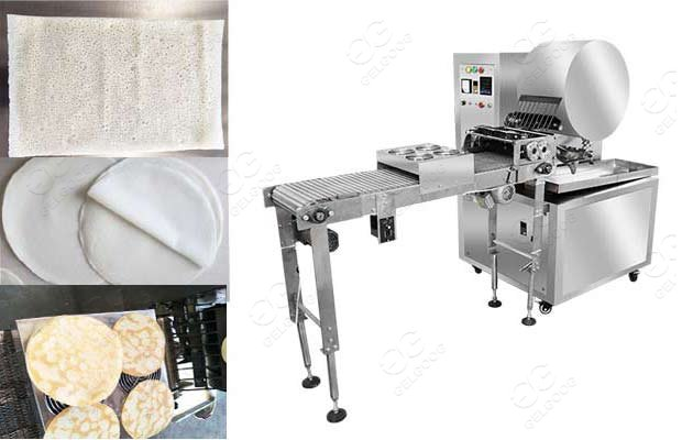 automatic popiah wrapper production line