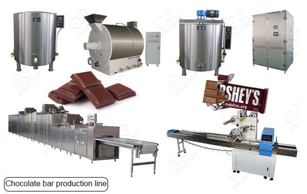 industrial chocolate production line
