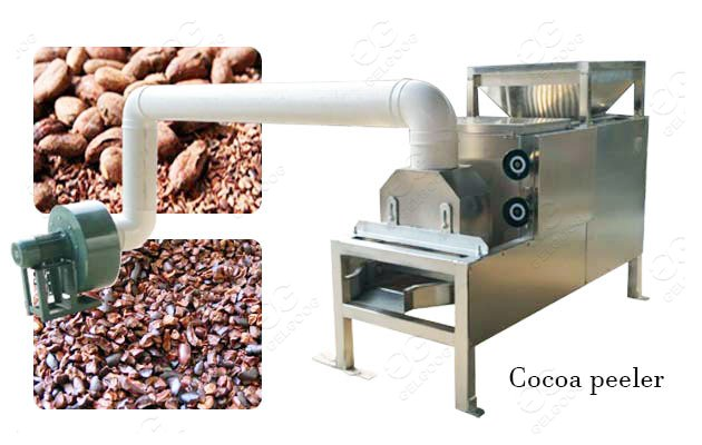 cocoa peeling machine for sale