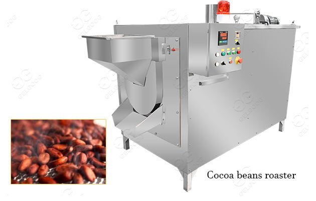 commercial cocoa roasting machine