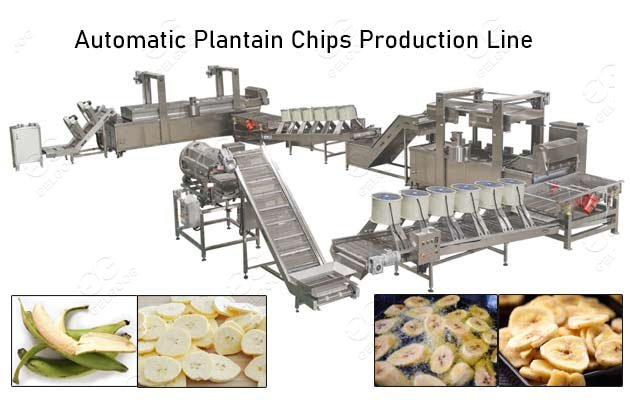 plantain chips production line supplier