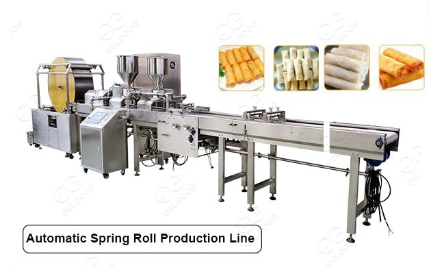 spring roll production machine