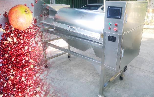 pomegranate processing machine