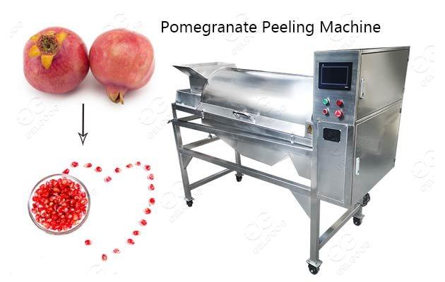 pomegranate seed removing machine