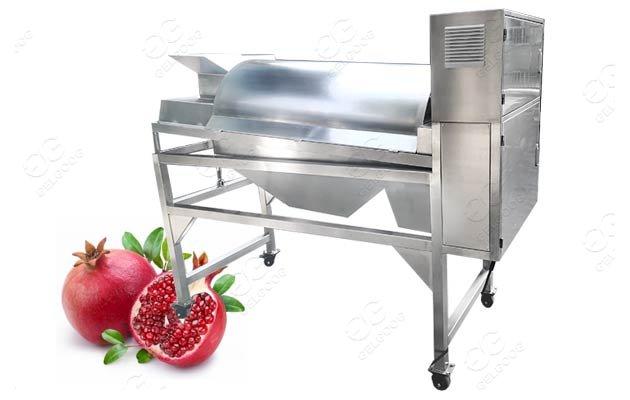 pomegranate skin peeling machine