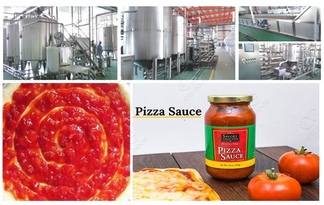 industrial pizza sauce processing line