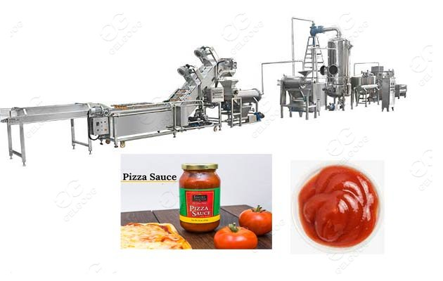 industrial pizza sauce production line