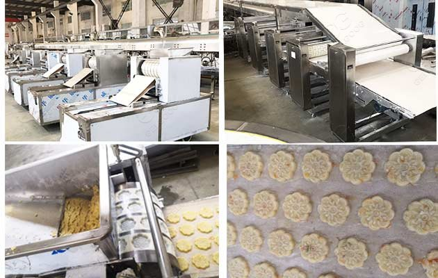 commercial biscuit production line