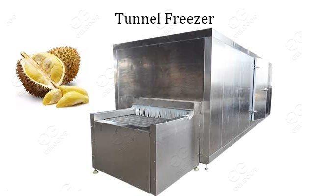durian tunnel freeze machine supplier