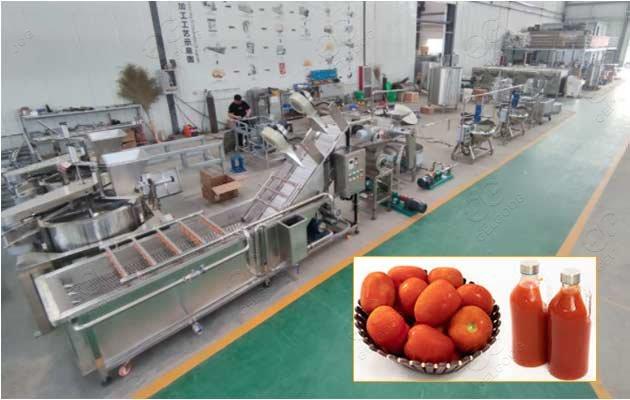 tomato puree processing plant for sale