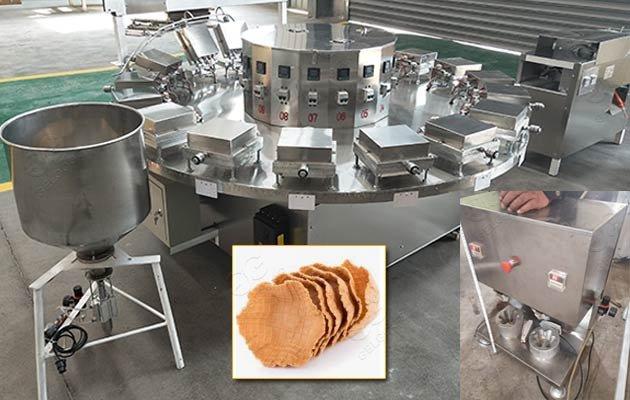 waffle bowl baking machine