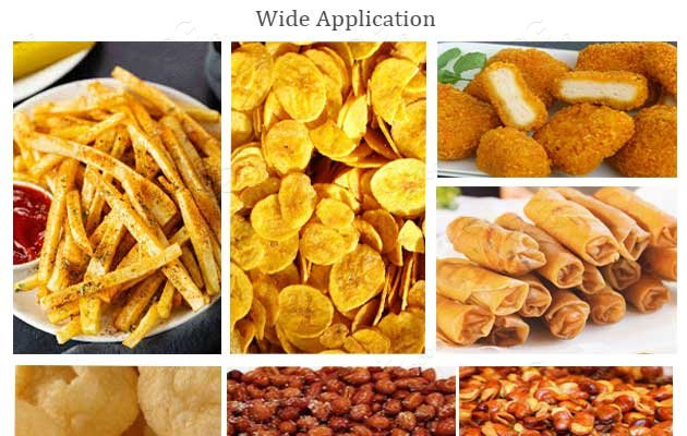 automatic chips fryer machine price