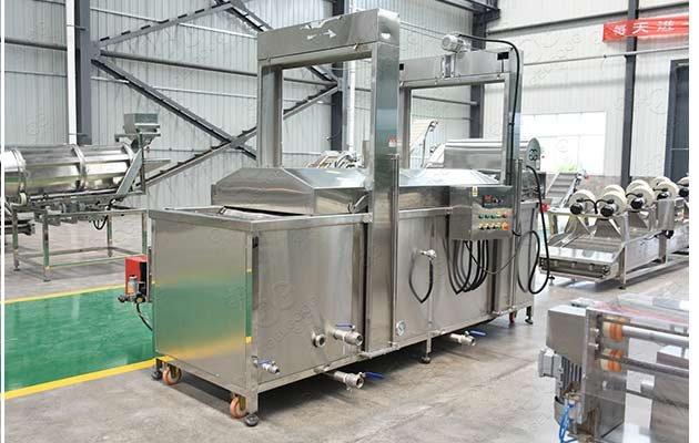 industrial snack fryer machine
