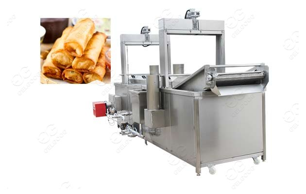 spring roll fryer machine