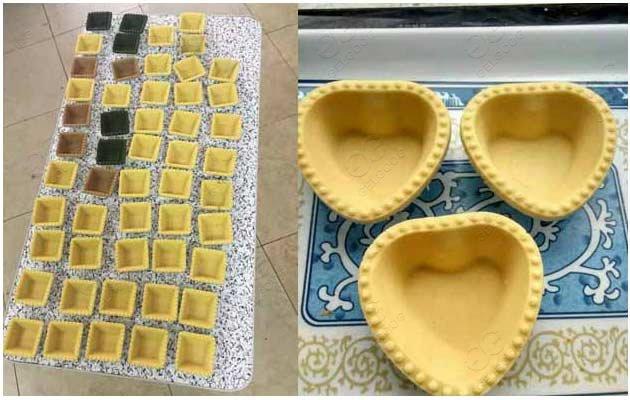commercial egg tart maker machine