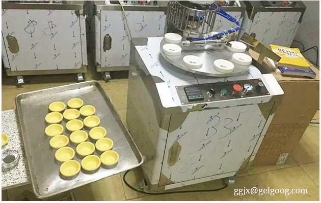 egg tart automatic machine