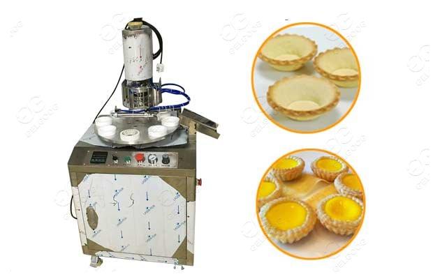 egg tart shell making machine
