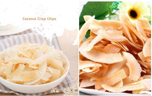 cocnut chips production line