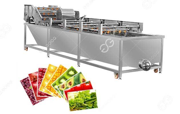 vegetable washing machine supplier