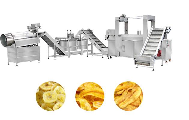 industrial plantain chips machine