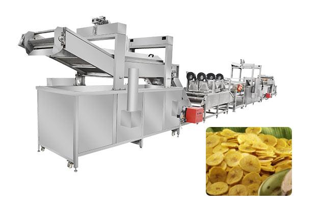 banana Kpekere production line