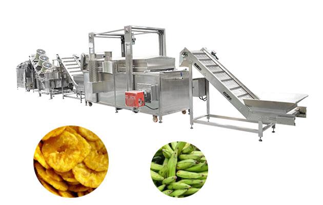 banana Chifle making machine