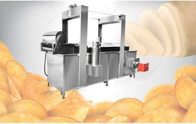 commercial chips frying machine