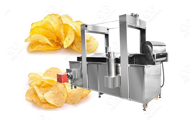 continuous potato chips fryer