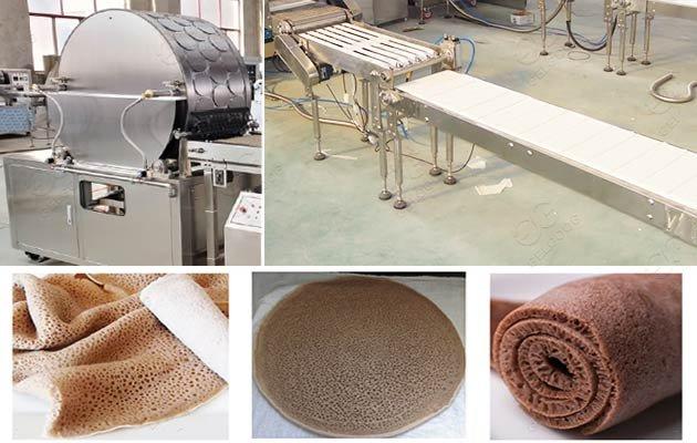 continuous injera making machine