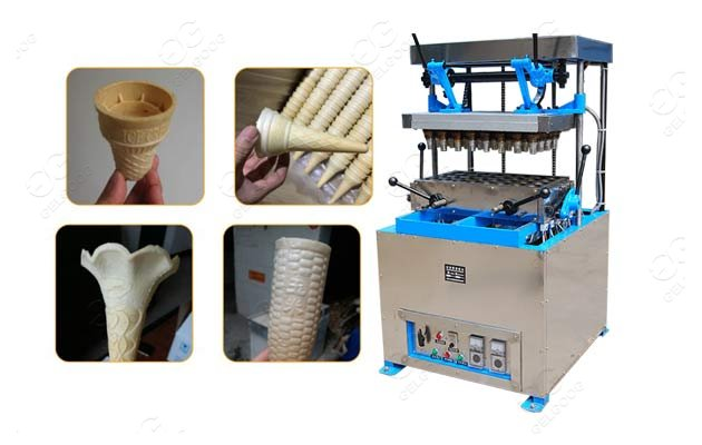 wafer ice cream cone machine