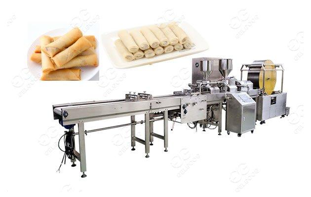 spring rolls making machine