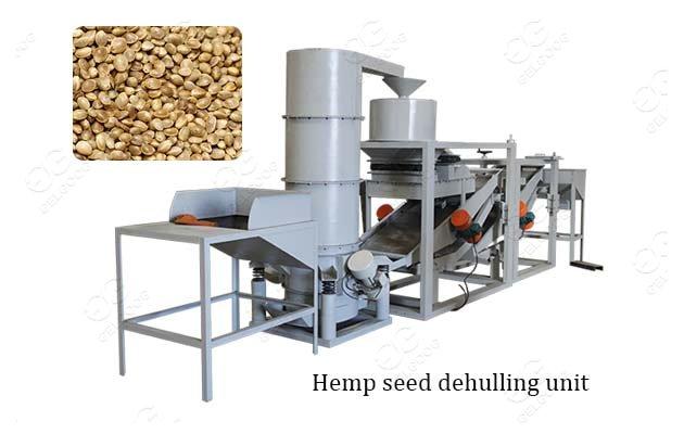 hemp seed dehulling equipment