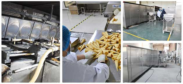 commercial waffle cones machine