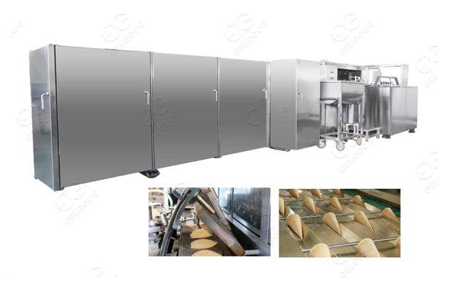 ice cream sugar cone production line